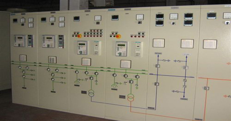 Electrical Control Panel Building Power PLC
